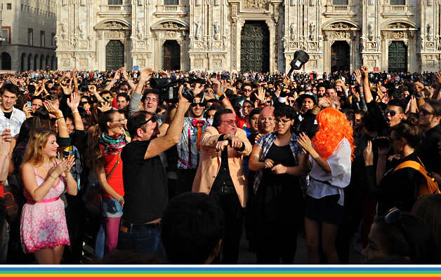 Gangnam Style Flashmob Milano